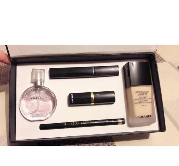 Chanel Gift Set 5 in 1 with foundation - Liquidation Cart