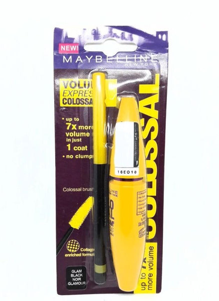 Maybelline Colossal Go Mascara with eyeliner - Liquidation Cart
