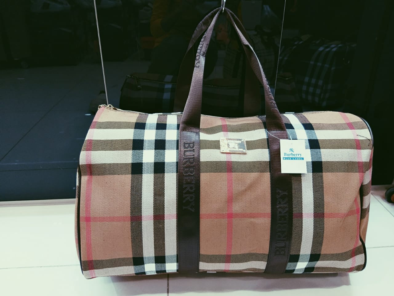 Burberry Designer Travel Bag