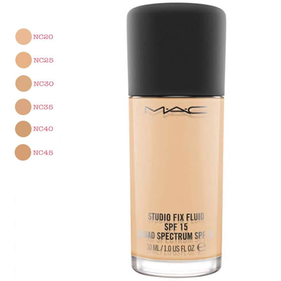 Mac Studio fix Foundation SPF 15 - Liquidation Cart