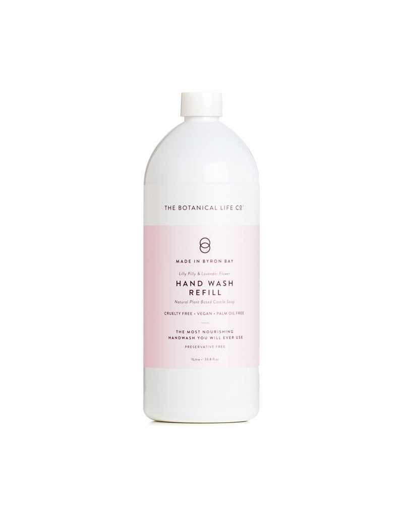 Handwash Refill Lilly Pilly and Lavender Flower