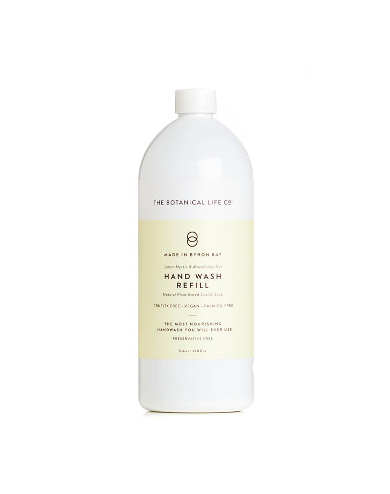 Lemon Myrtle and Macadamia Nut Handwash Refill