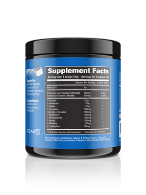 'AMINOS' - Complete EAA Recovery Formula with BCAA and PEAK 02
