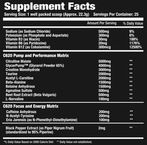 'PRE' V 2.0- Ultimate Preworkout Pump, Focus, and Strength Formula