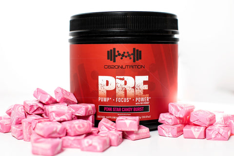 Super CLUMP Super PUMP - 'PRE' V 2.0- Ultimate Preworkout Pump, Focus, and Strength Formula