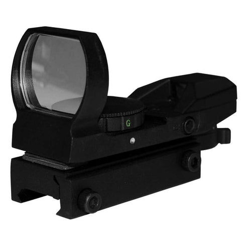 Tactical Electro Dot Sight, Red And Green With Four Reticals