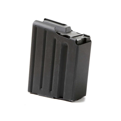 Sr25-dpms .308 Stainless 10 Round Magazine - Marlube Black, Black Follower