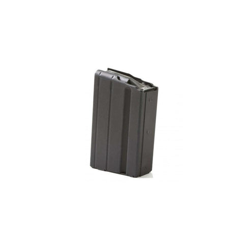 Sr25-dpms .308 Sr Stainless 5 Round Magazine - Marlube Black, Black Follower