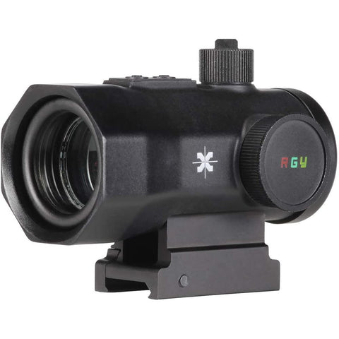 Axeon Rgy Dot Sight - 1x30mm, Red - Green - Yellow