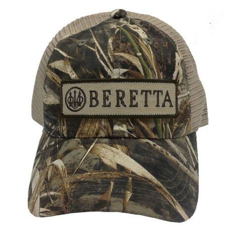 Beretta Patch Trucker Hat - Camo