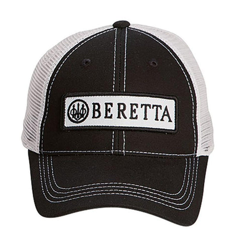 Beretta Patch Trucker Hat - Black