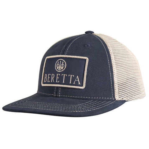 Beretta Flat Bill Patch Trucker - Navy-stone