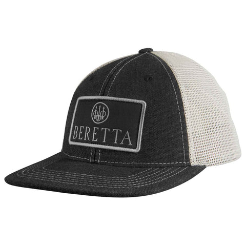 Beretta Flat Bill Patch Trucker - Charcoal-grey