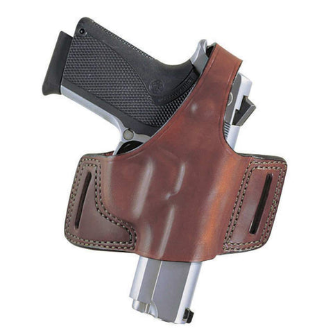 Black Widow Belt Slide Holster - Glock 17, Tan, Right Hand