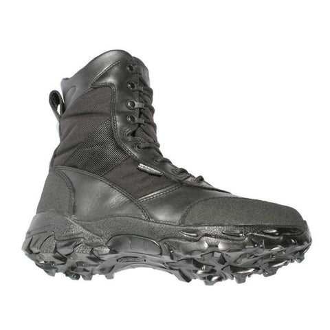 Warrior Wear Black Ops Boots, Leather-cordura Nylon, Black, Size 5.5 Medium