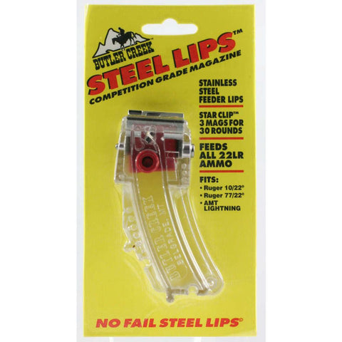 Steel Lips 10-round Magazine - Clear