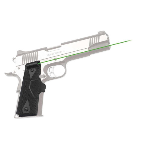 Lg-401g Front Activation Green Lasergrips For 1911 Full-size
