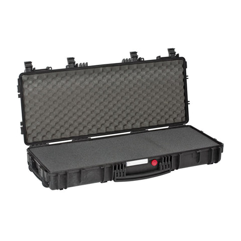 Explorer Red Tactical Gun Case - Black, Pre-cubed Foam