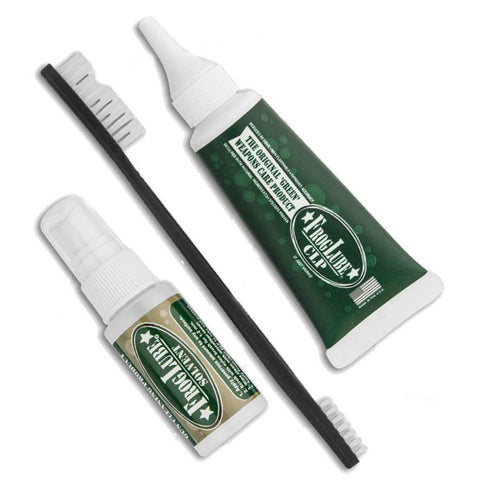 Clamshell Cleaning Kit - Solvent - Clp - Brush