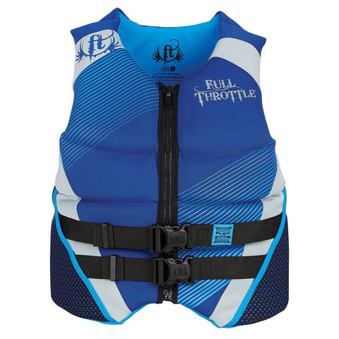 Neoprene Flex-zone Vest Blue Medium
