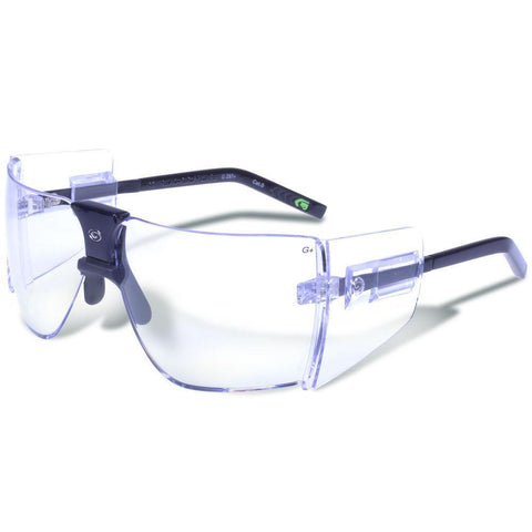 Classic Black Frame - Clear Lens