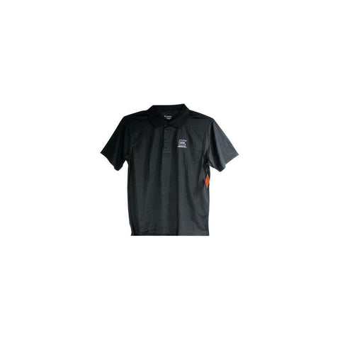 Perfection Mens Polo Black Large