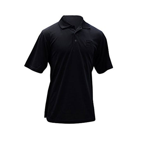 Perfection Mens Polo Black 2x-large