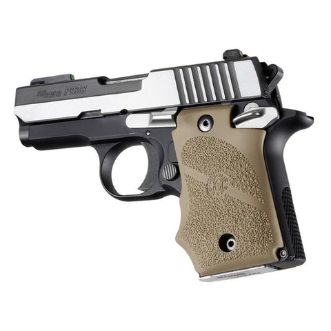 Sig Sauer P938 Safety Rubber Grip With Finger Grooves