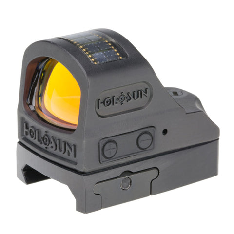 Titanium Open Reflex Sight - Red Circle Dot-solar Panel