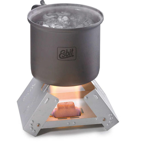 Small Pocket Stove With 6 Fuel Tablets