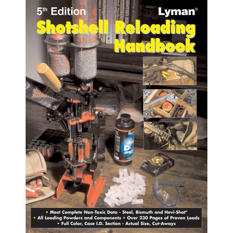 The Lyman Shotshell Reloading Handbook, 5th Edition