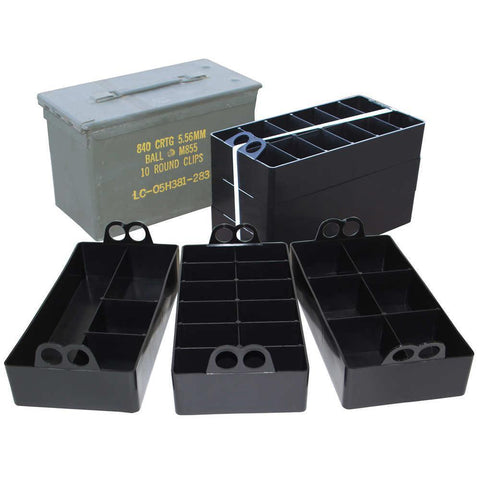 50 Caliber Ammo Can Organizer