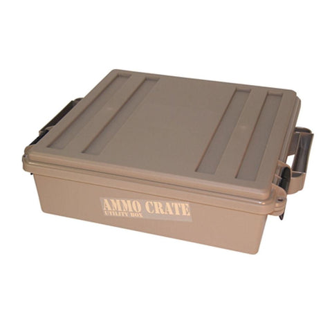 Ammo Crate Utility Box, Dark Earth