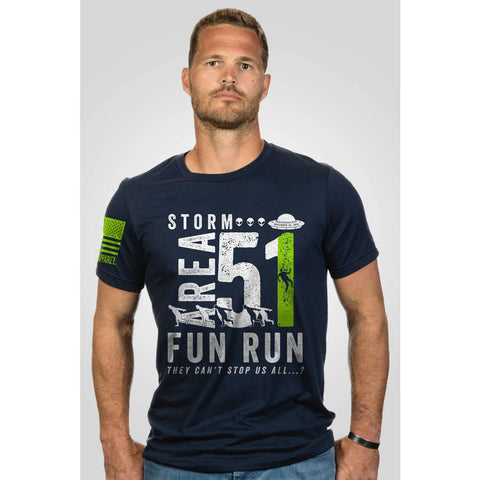 Storm Area 51 Fun Run T-shirt - Navy - 3x-large