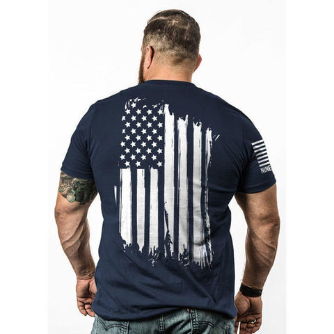 America T-shirt Navy - 2x-large
