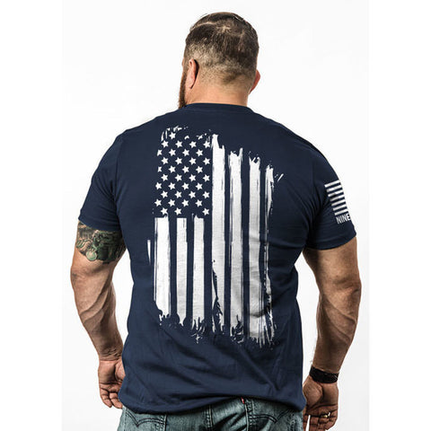 America-tshirt Navy Small
