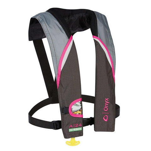 A-24 In-sight Auto Infl Life Jacket Pink