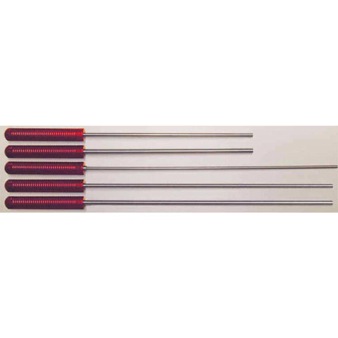 "Micro-polished Stainless Steel Cleaning Rod - 36"" Rifle, .22-.26 Caliber"