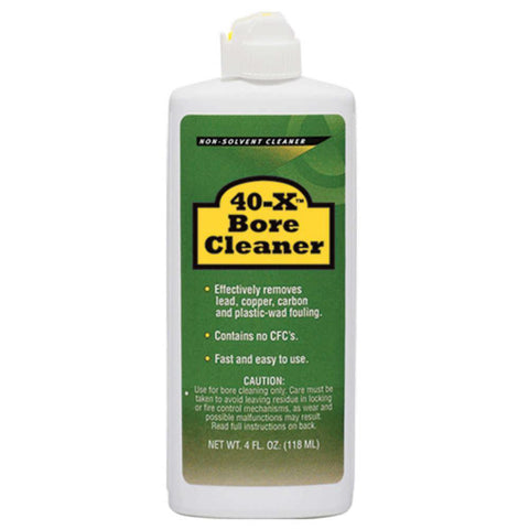 40-x Bore Cleaner - 4 Oz. Bottle