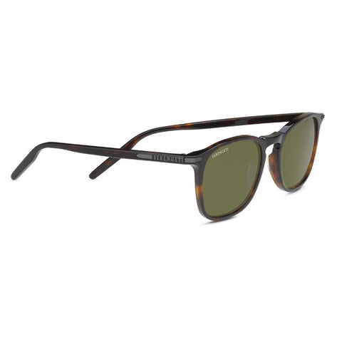 Delio Sunglasses - Shiny Dark Havana - Polarized Ultra-light Mineral Lens