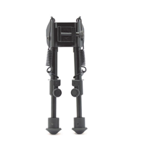 "Bipod With Spring - 6-9"", Black"