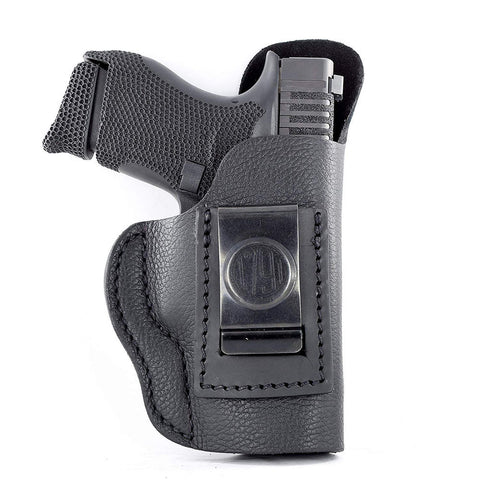 "Smooth Concealment Holster - Stealth Black - Right Hand - Colt 1911 3"", Glk 42-43, Kim 1911 3"", Rug Lc9, Sig P365"