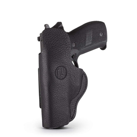 Smooth Concealment Holster - Stealth Black - Right Hand - Cz Cz75, Glk 17-19-21, Rug Sr9, Sig P225, S&w Shield, Spr Xds