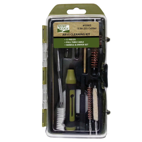 Ar Field Cleaning Kit - 17 Piece - .30-7.62