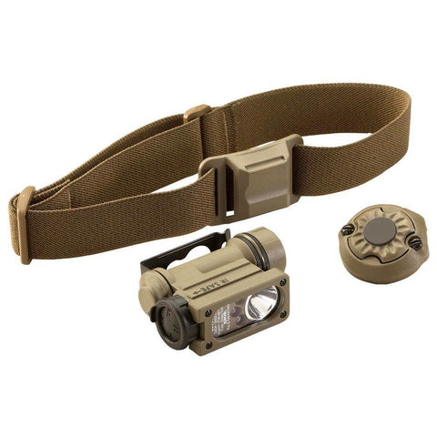 Sidewinder Compact Ii Head Lamp - W-helmet Mount And Strap