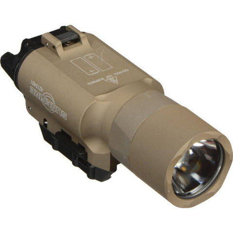 Ultra Weapon Light, Handgun Or Long Gun, Led, 1,000 Lumens, Desert Tan
