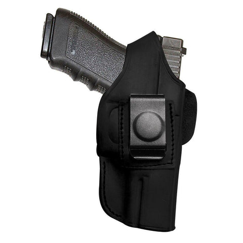 4-in-1 Holster With Thumb Break - Leather Black - Right - S&w Body Guard