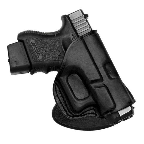 Rotating Quick Draw Paddle Holster Glock 17 - 22 - 31 Right Hand