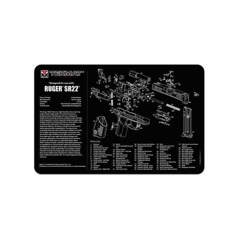 Ruger Sr22 Cleaning Mat