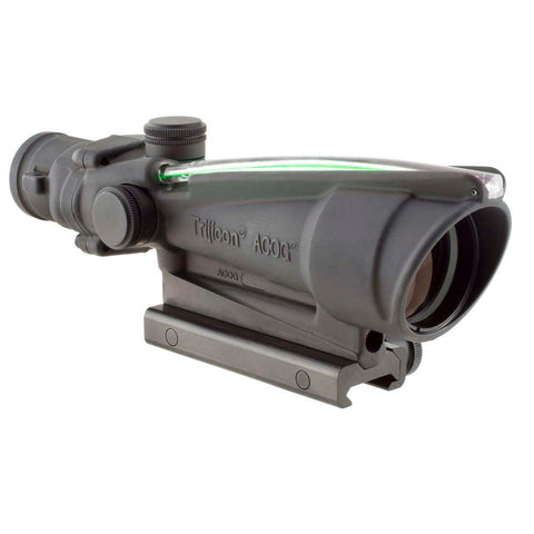 Trijicon Acog 3.5x35 Scope, Dual Illuminated Green Crosshair .223 Ballistic Reticle